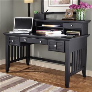 Home Styles Arts and Crafts Executive Desk and Hutch