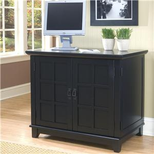 Home Styles Arts and Crafts Compact Office Cabinet
