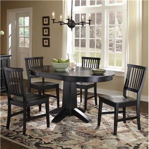 Home Styles Arts and Crafts 5 Piece Dining Table Set