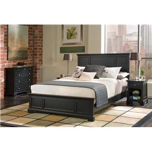 Home Styles Bedford Queen Bed, Nightstand, & Chest