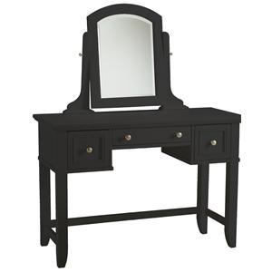 Home Styles Bedford Black Vanity Table