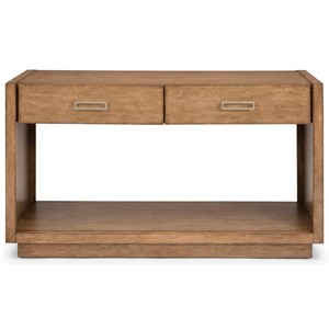 Casual Console Table with Drawers