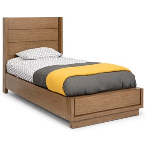 Casual Twin Platform Bed