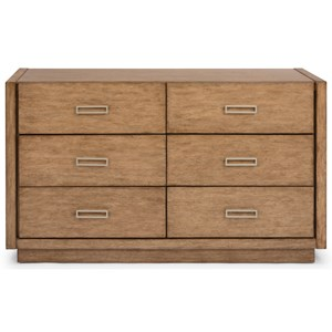 Casual Dresser with Felt-Lined Drawers