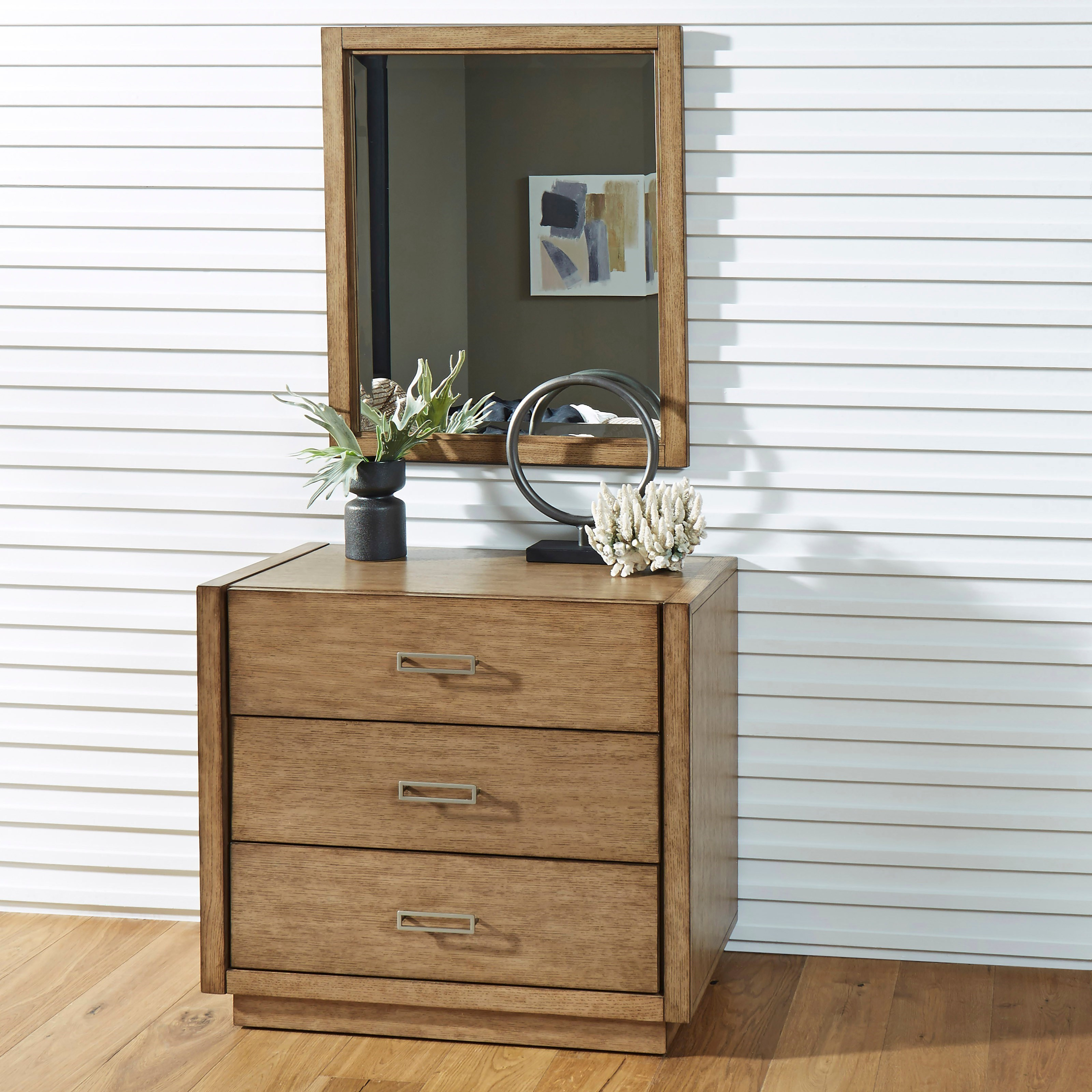 Big Sur Chest and Mirror by Homestyles at Northeast Factory Direct
