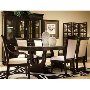 Furniture Brands, Inc. Grammercy 7 Piece Dining Table and Chairs Set