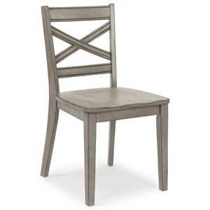 Farmhouse X Back Side Chair