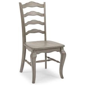 Farmhouse Ladderback Side Chair