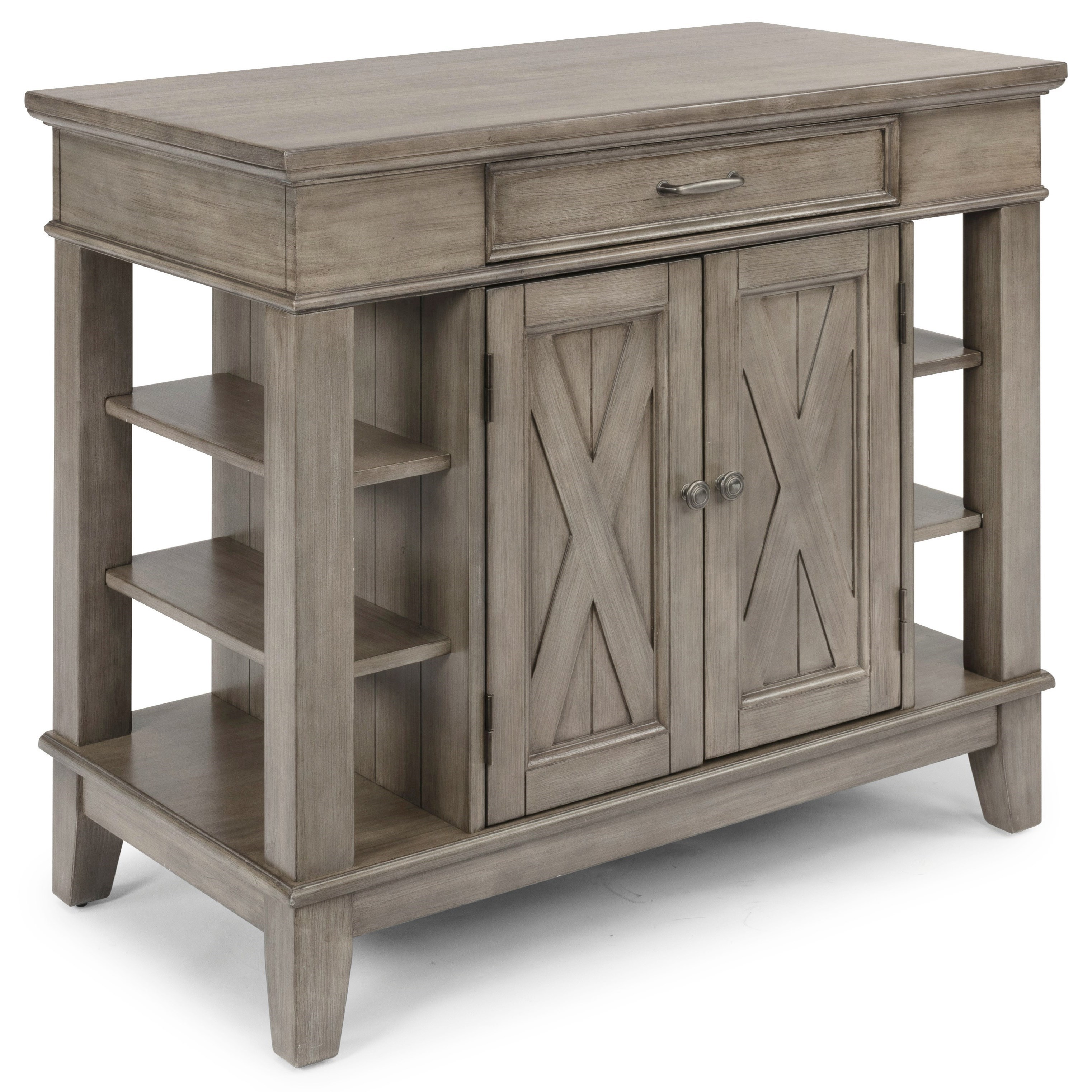 Mountain Lodge Kitchen Island by homestyles at Sam Levitz Outlet