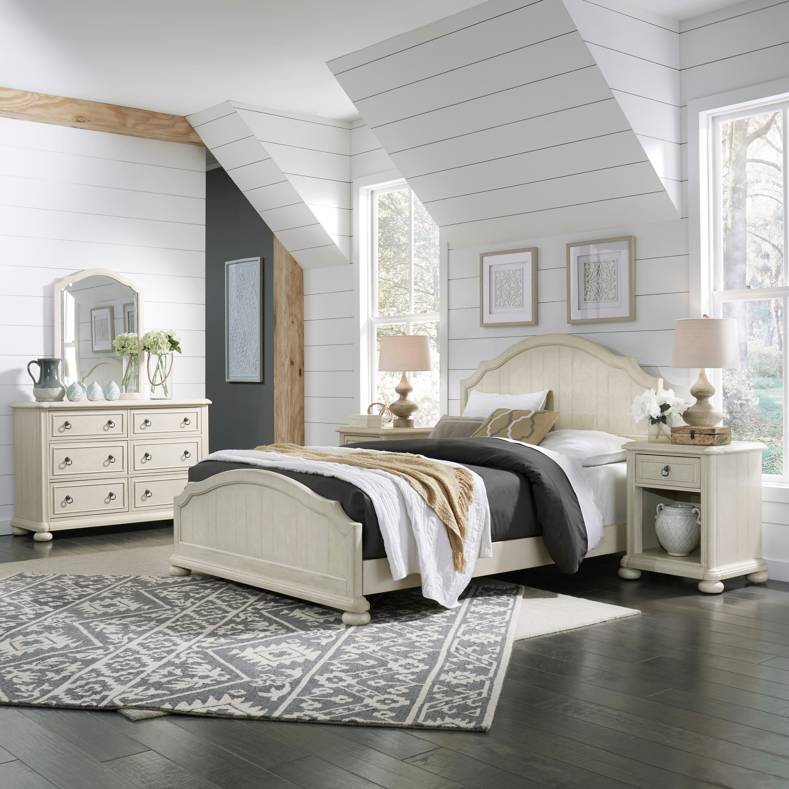 Provence Queen Bedroom Group by Homestyles at Northeast Factory Direct