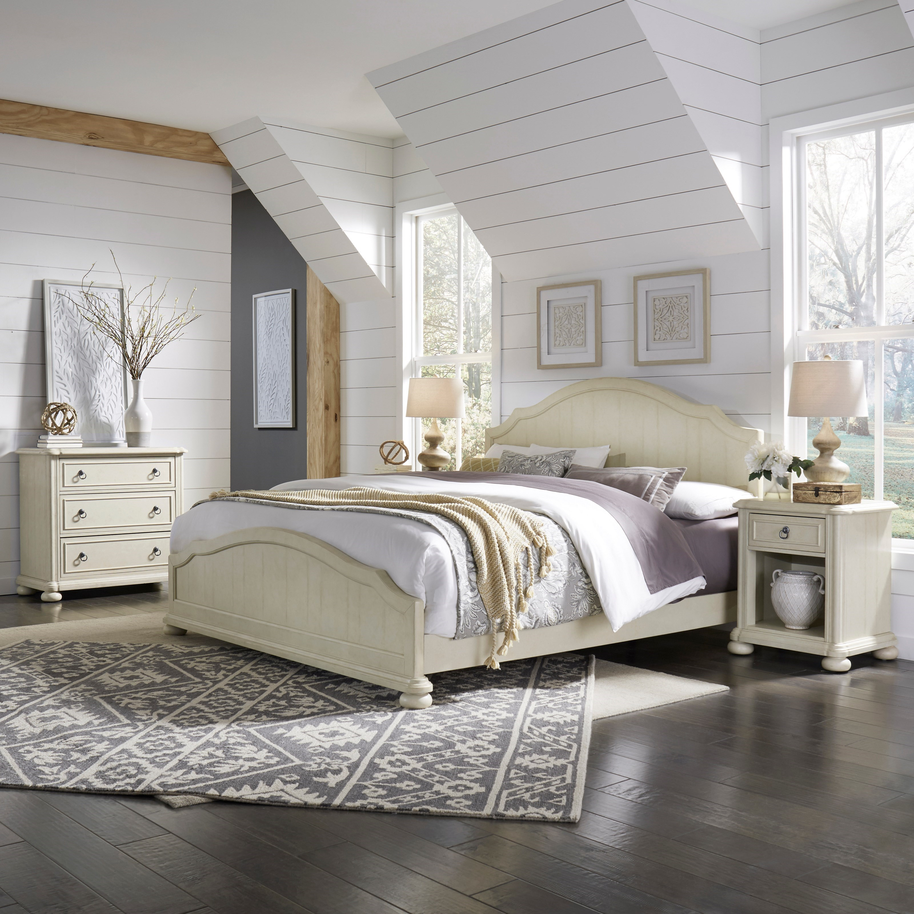 Provence King Bedroom Group by Homestyles at Suburban Furniture
