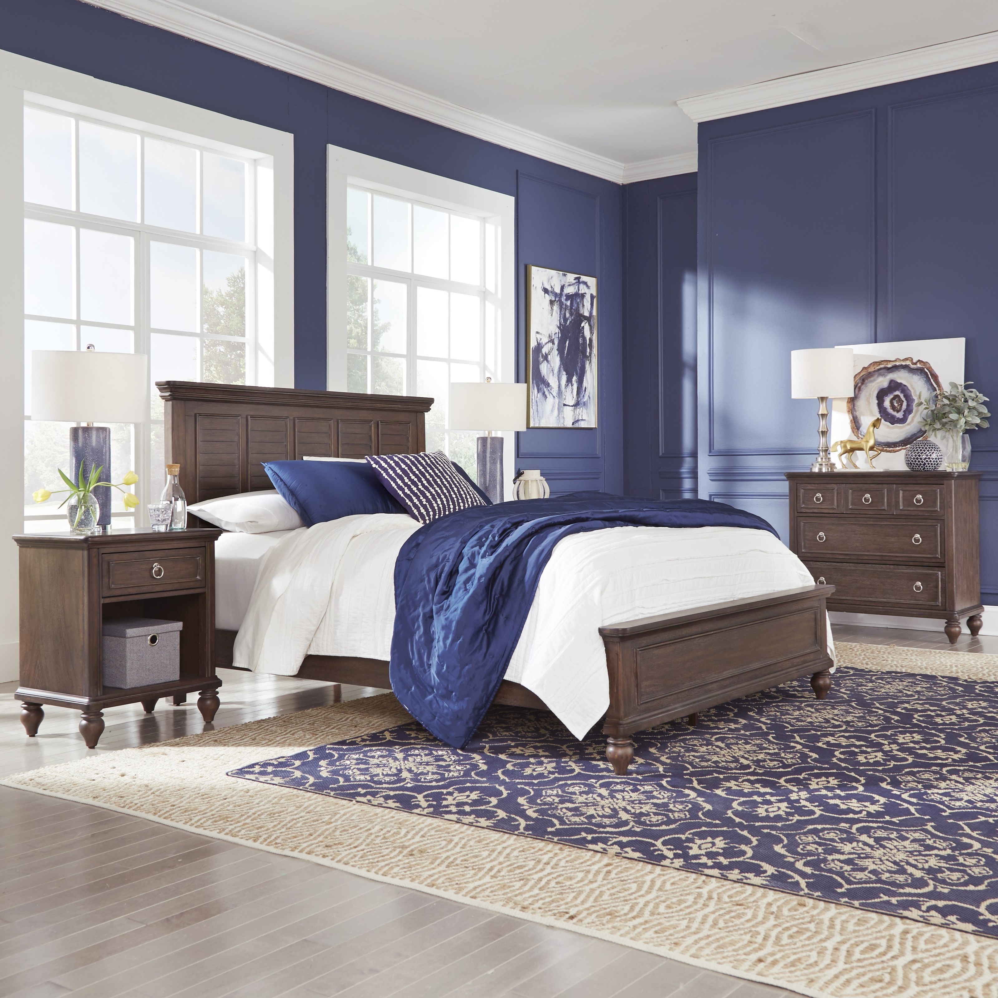 Southport Queen Bedroom Group by Homestyles at Northeast Factory Direct