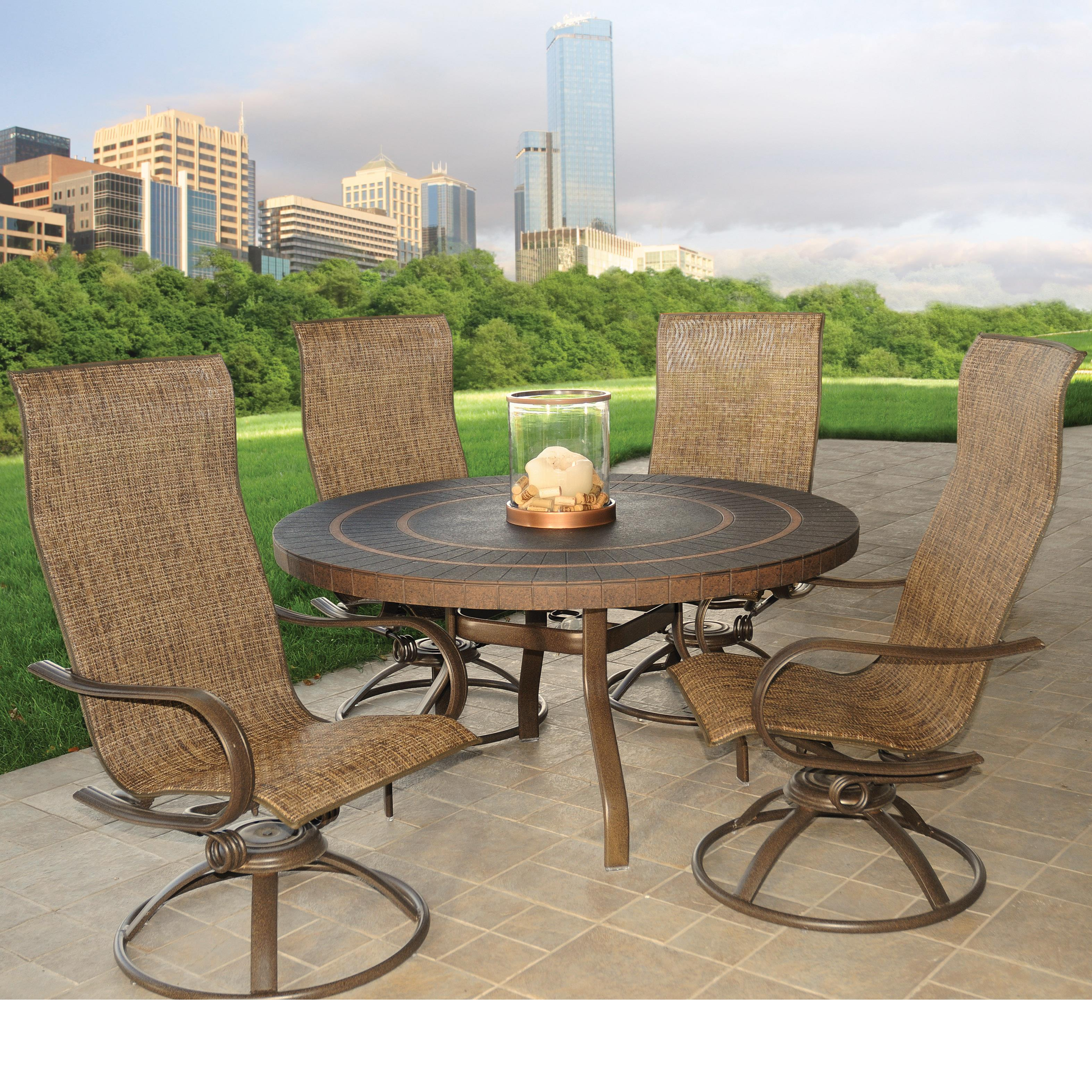 Holly Hill Dining Set  by Homecrest at VanDrie Home Furnishings