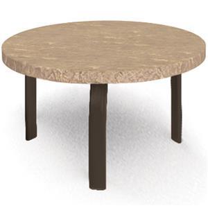 "Homecrest Sandstone 24"" Round Side Table"