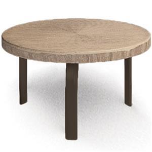 "Homecrest Slate 24"" Round Side Table"