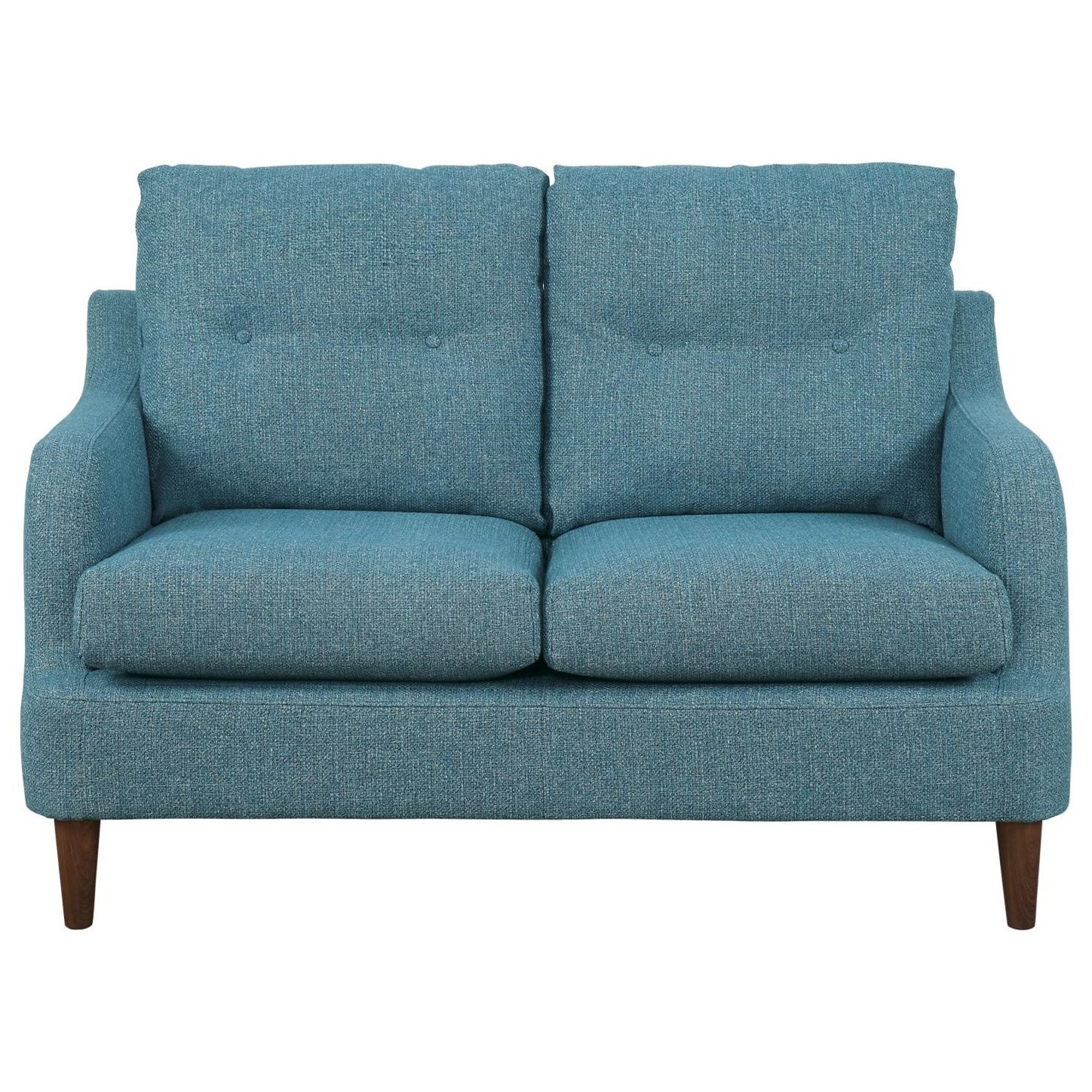 Cagle Love Seat by Homelegance at Lindy's Furniture Company