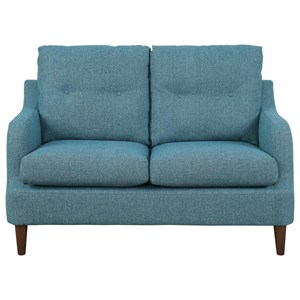 Transitional Love Seat