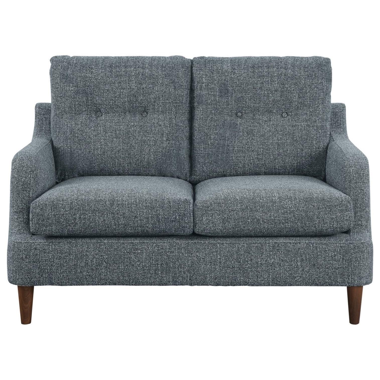 Cagle Love Seat by Homelegance at Corner Furniture