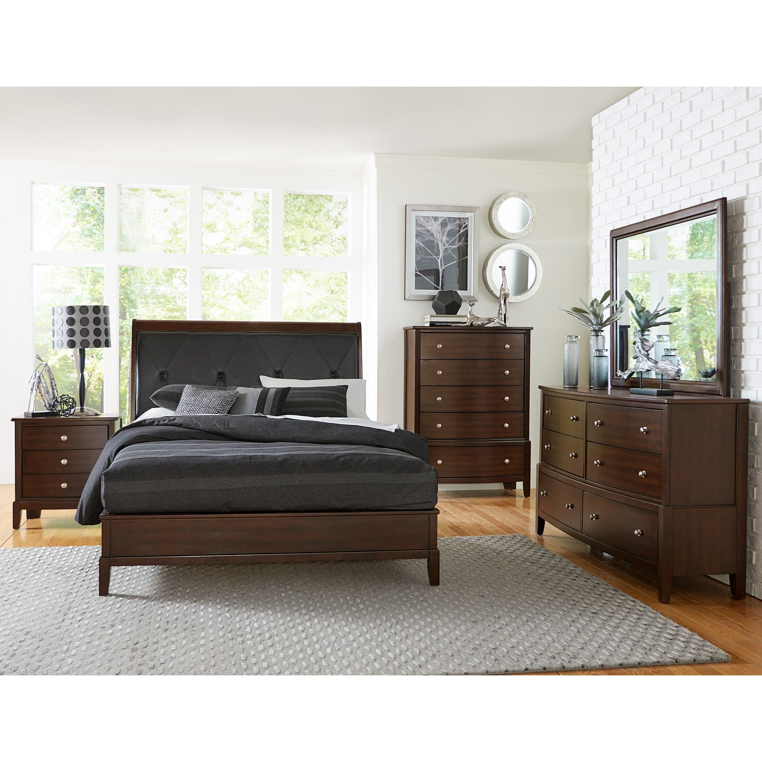 Cotterill Queen Bedroom Group by Homelegance at Darvin Furniture