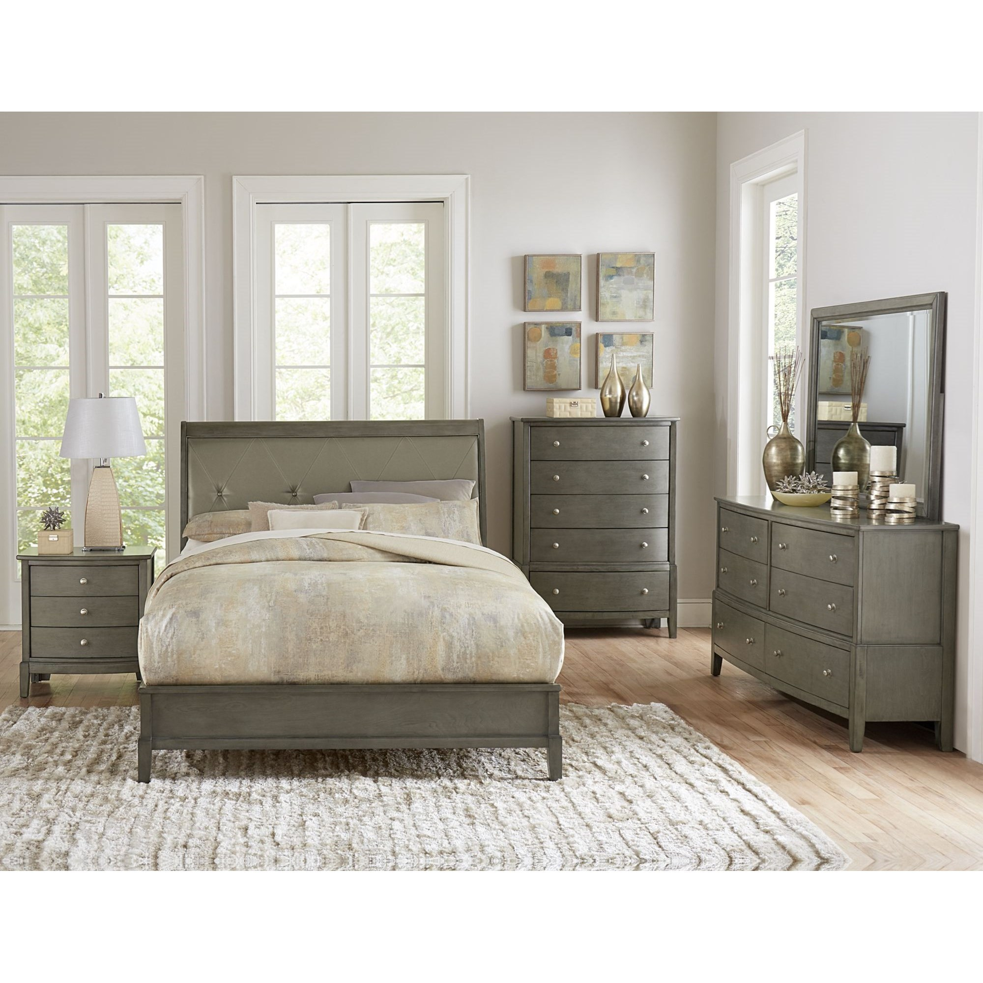 Cotterill King Bedroom Group by Homelegance at Lindy's Furniture Company