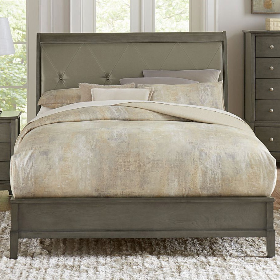 Cotterill California King Upholstered Bed by Homelegance at Simply Home by Lindy's