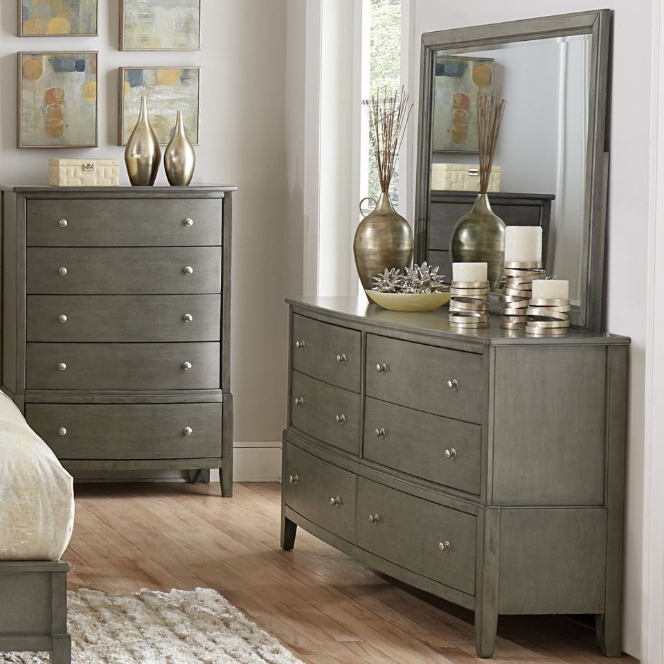 Cotterill Dresser and Mirror Set by Homelegance at Carolina Direct