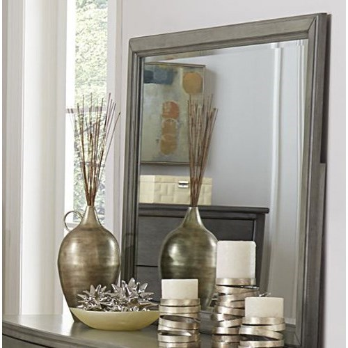 Cotterill Rectangular Mirror by Homelegance at Carolina Direct