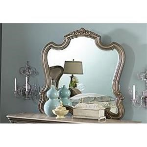 Florentina French Provincial Glass Mirror
