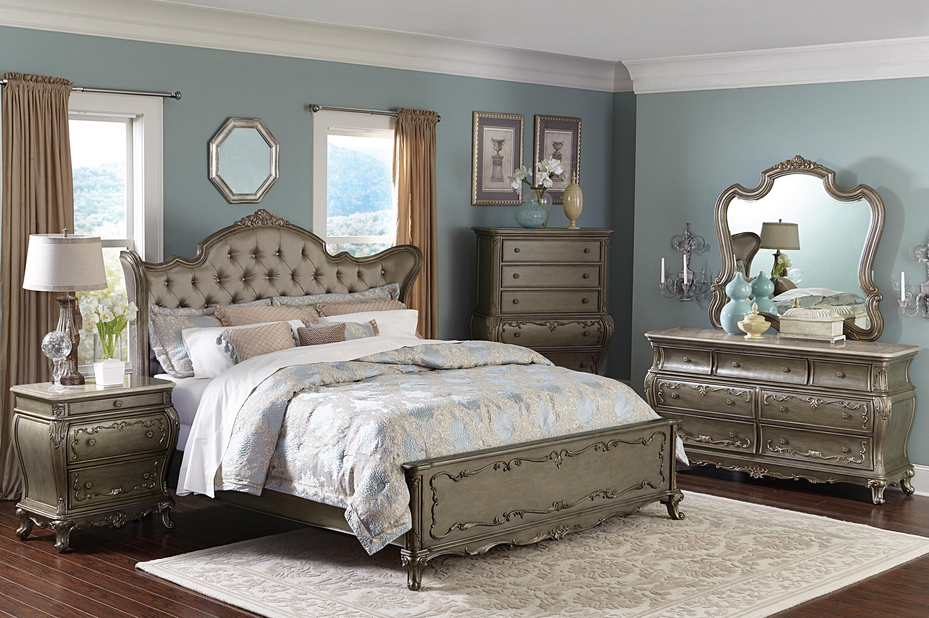 Florentina French Provincial California King Bedroom Group 1