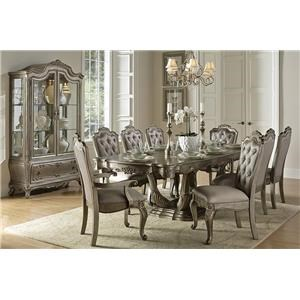French Provincial Formal Dining Room Group