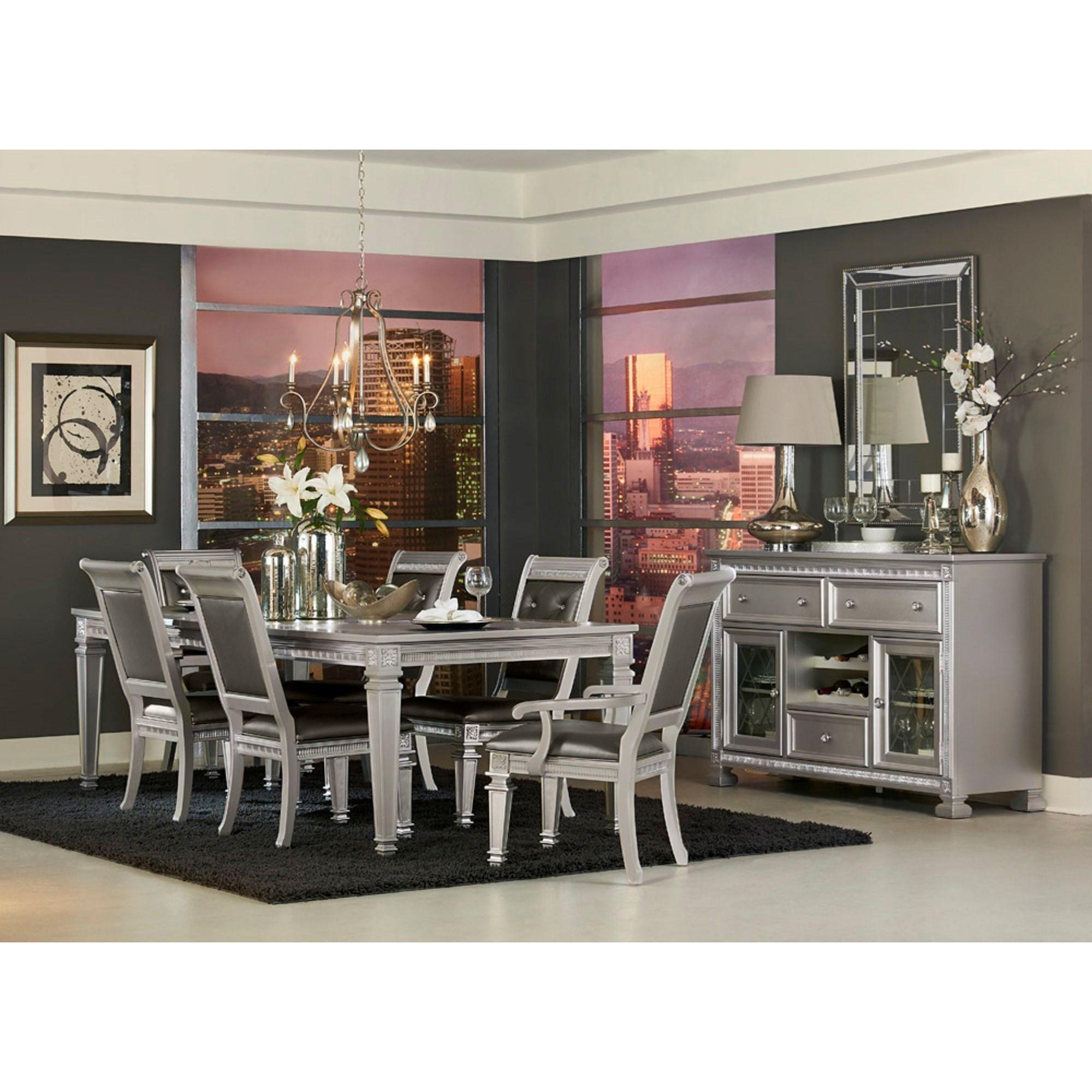 1958 Glam Dining Room Group by Homelegance Furniture at Del Sol Furniture