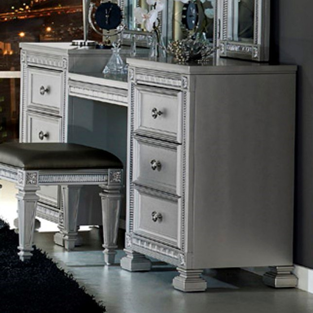 1958 Glam Vanity by Homelegance at Lindy's Furniture Company
