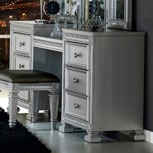 Glam Vanity with 6 Drawers