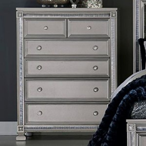 Homelegance 1958 Glam Chest of Drawers