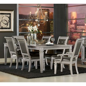 Glam Table and Chair Set