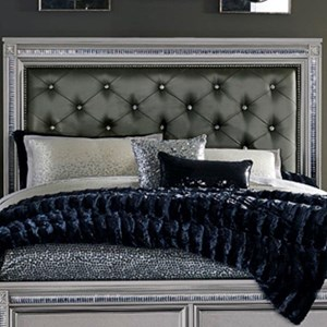 Glam King Headboard with Tufting