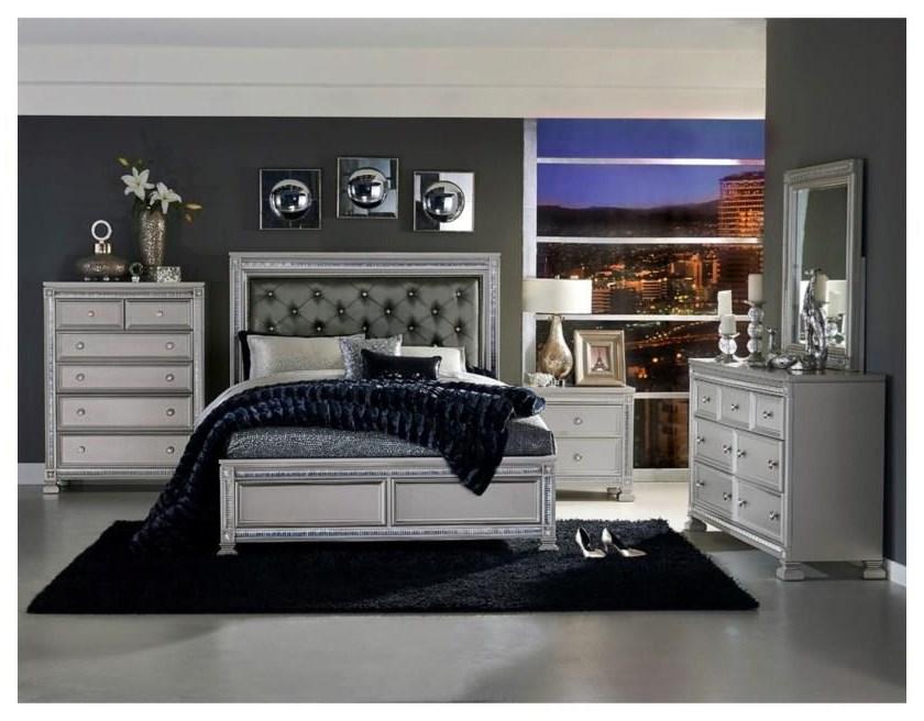 1958 King 6 Piece Bedroom Set by Homelegance at Beck's Furniture