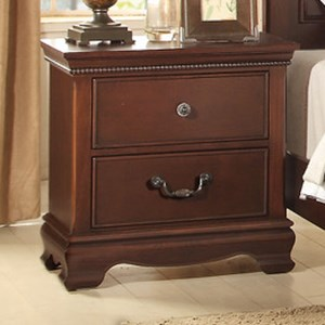 Homelegance 2039C Traditional Night Stand