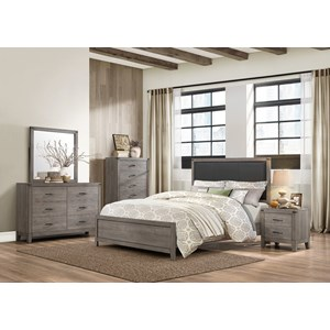 Homelegance 2042 Contemporary Queen Bedroom Group