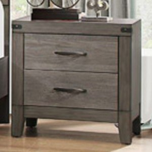 Homelegance 2042 Contemporary Nightstand