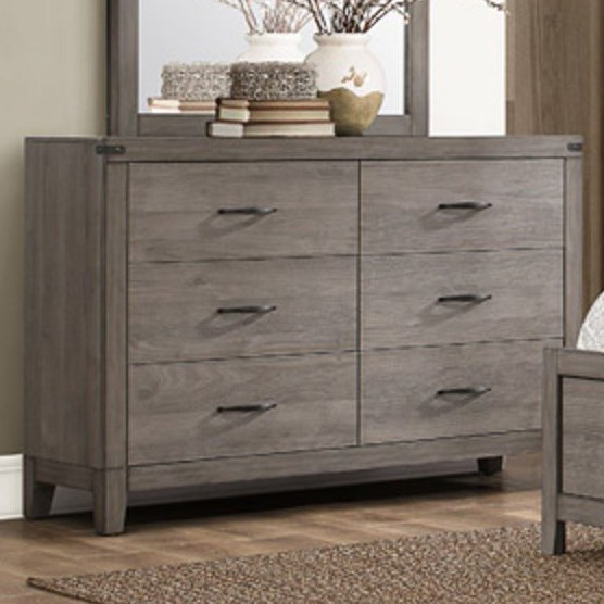 2042 Contemporary Dresser by Homelegance at Nassau Furniture and Mattress