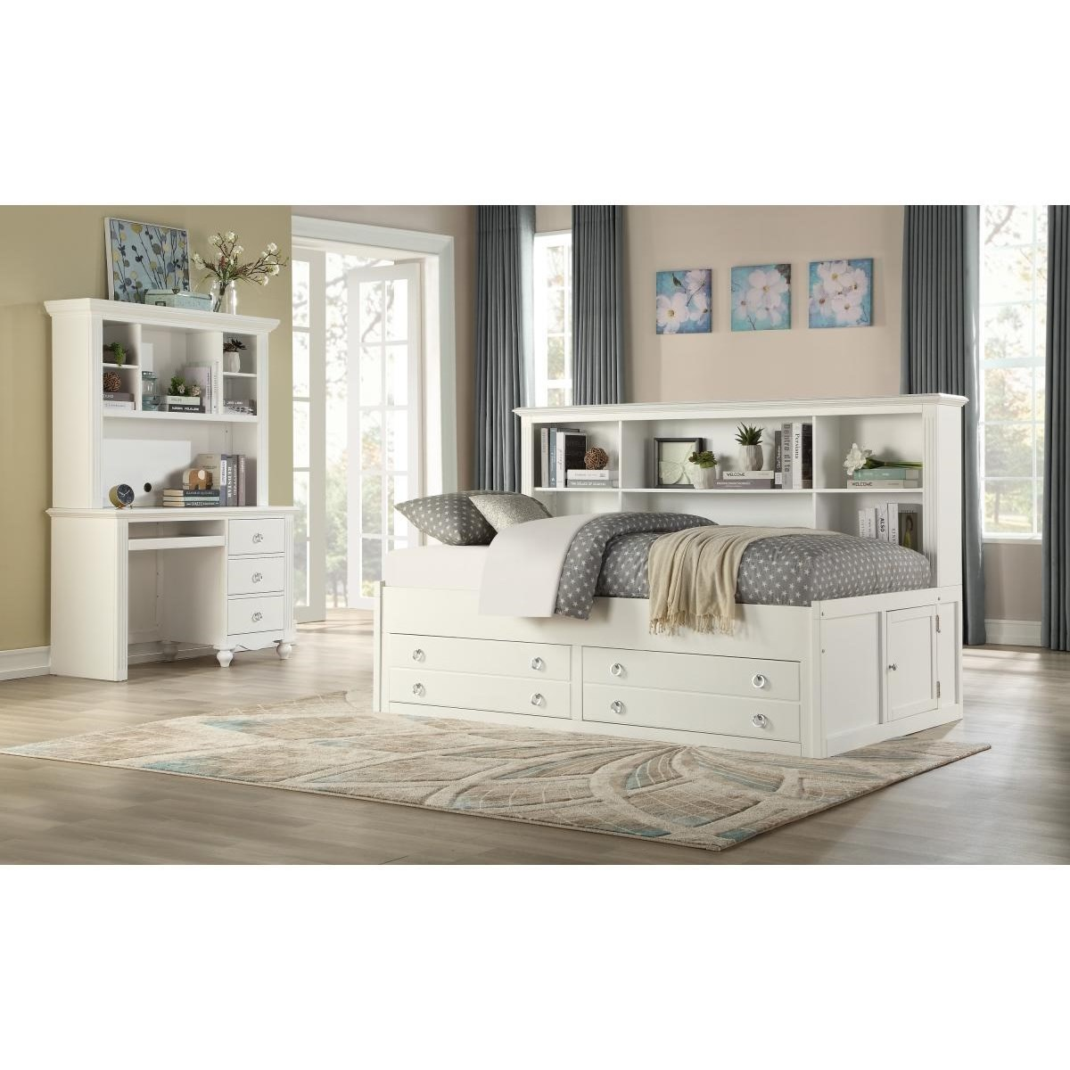 2058WH Full Bedroom Group by Homelegance at Lindy's Furniture Company