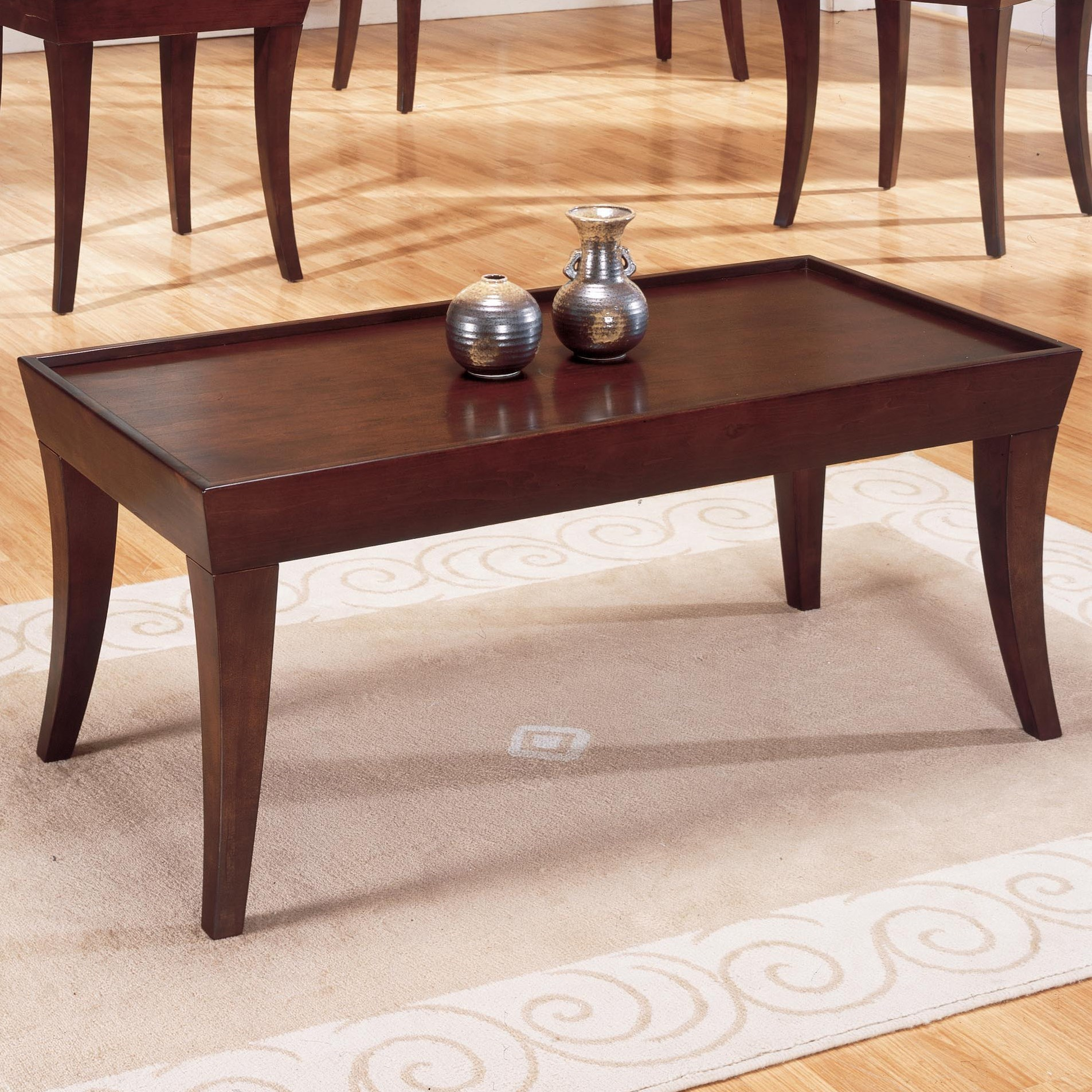 Zen Casual Cocktail Table by Homelegance at Rooms for Less