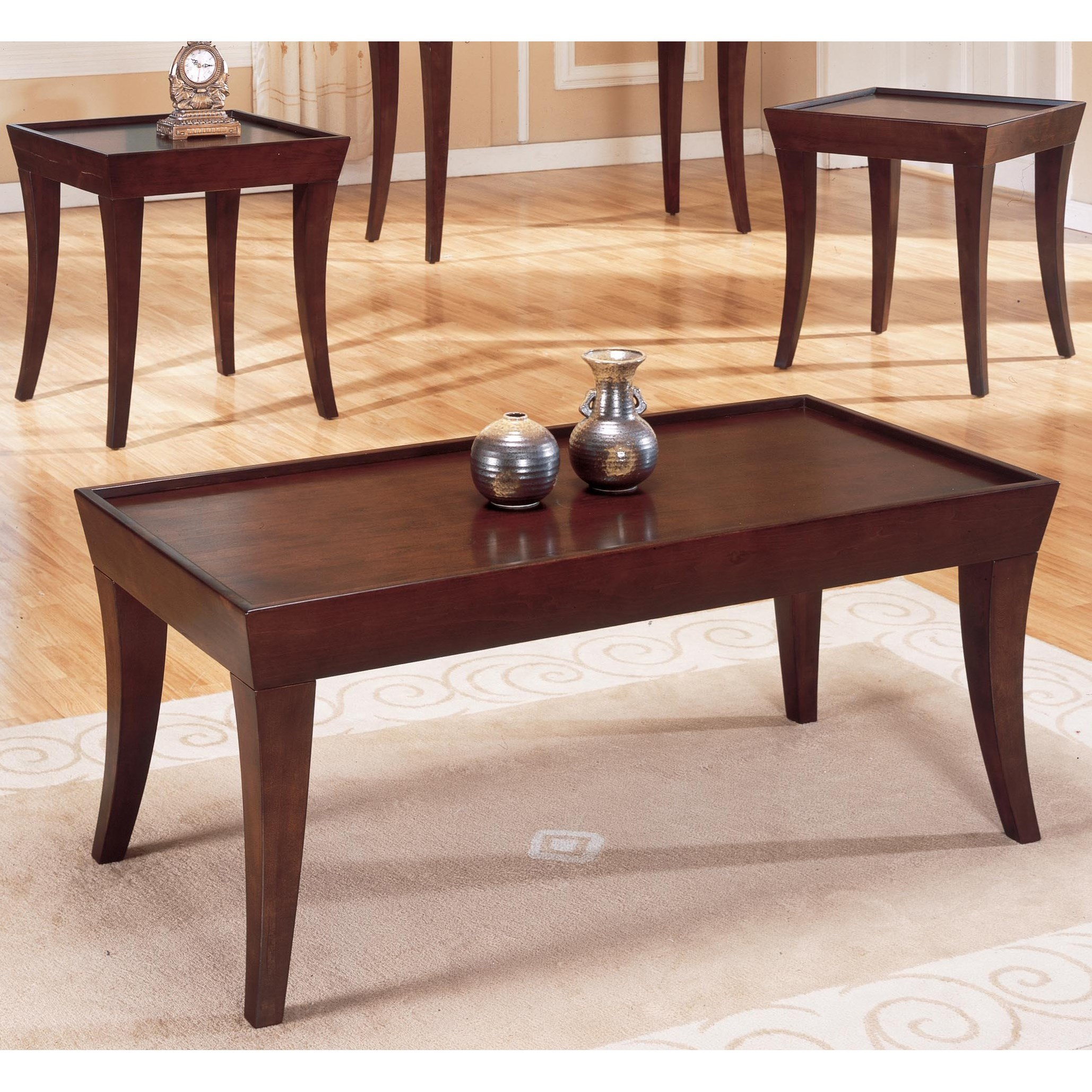 Zen Casual Occasional Table Group by Homelegance at Lindy's Furniture Company
