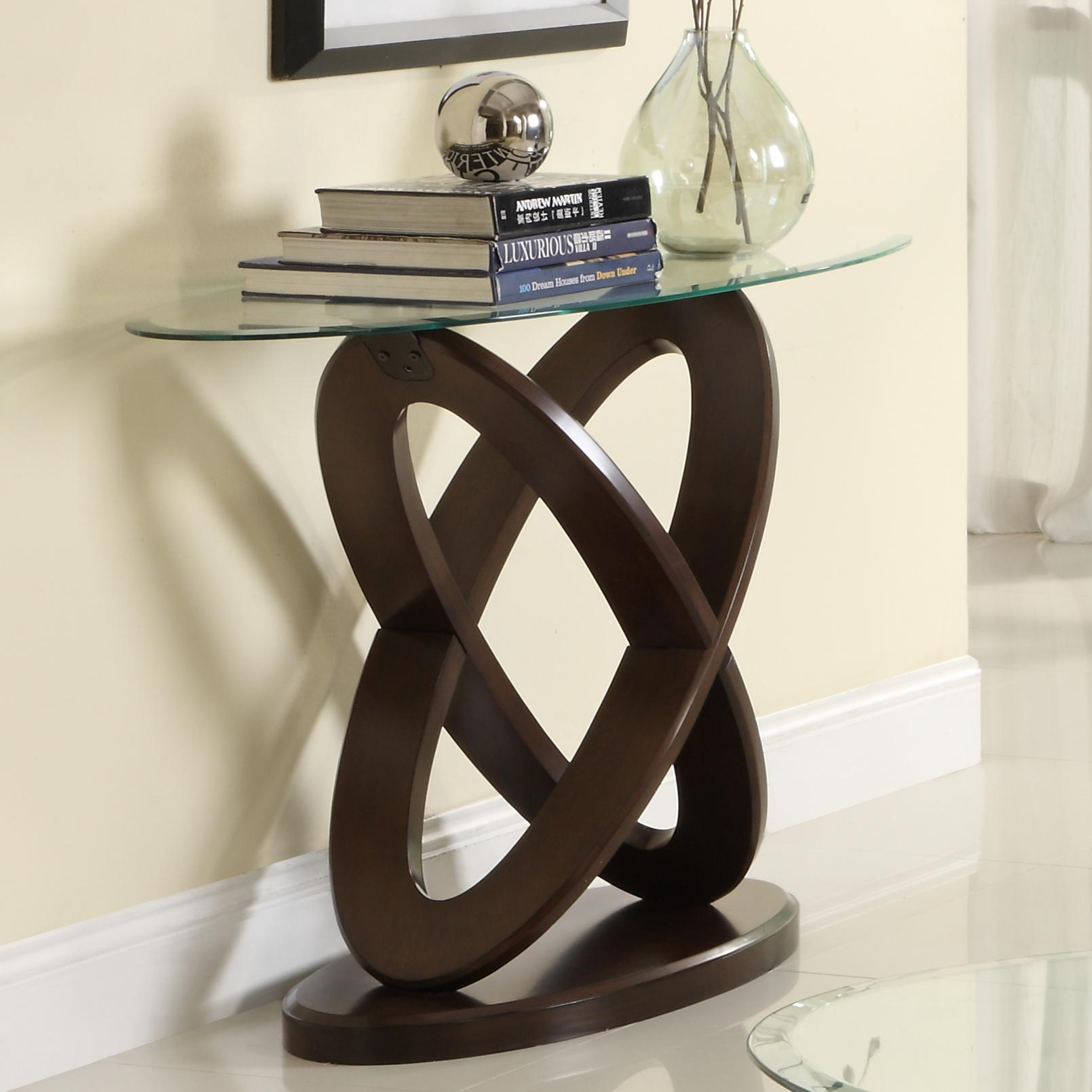 3401W Oval Sofa Table by Homelegance Furniture at Del Sol Furniture