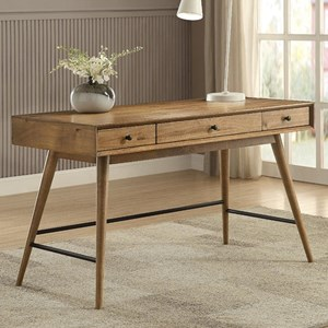 Contemporary Writing Desk with Storage