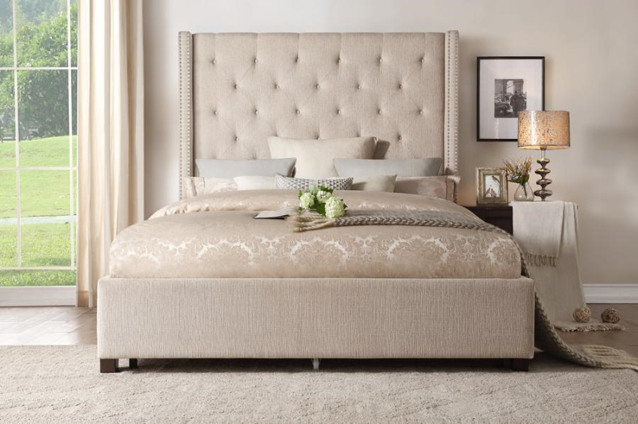 Fairborn Queen Storage Bed by Homelegance at Dream Home Interiors