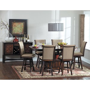 Homelegance 626 Counter Height Dining Room Group