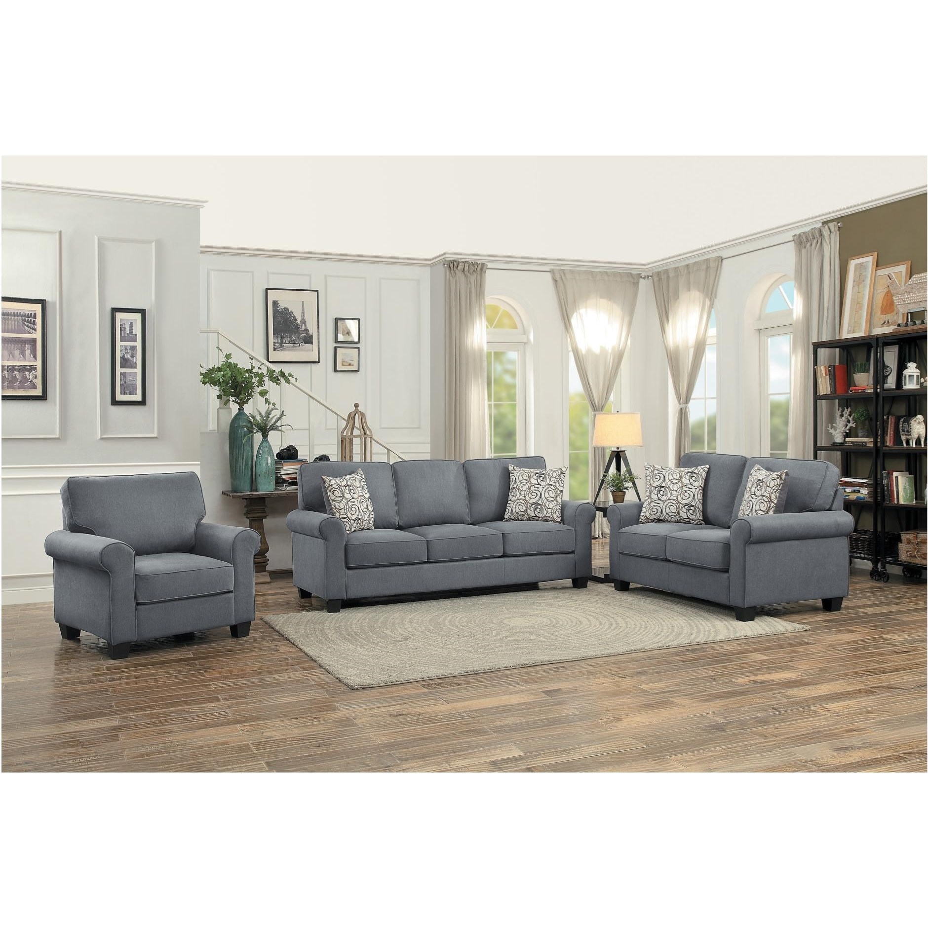 Selkirk Living Room Group by Homelegance at Nassau Furniture and Mattress