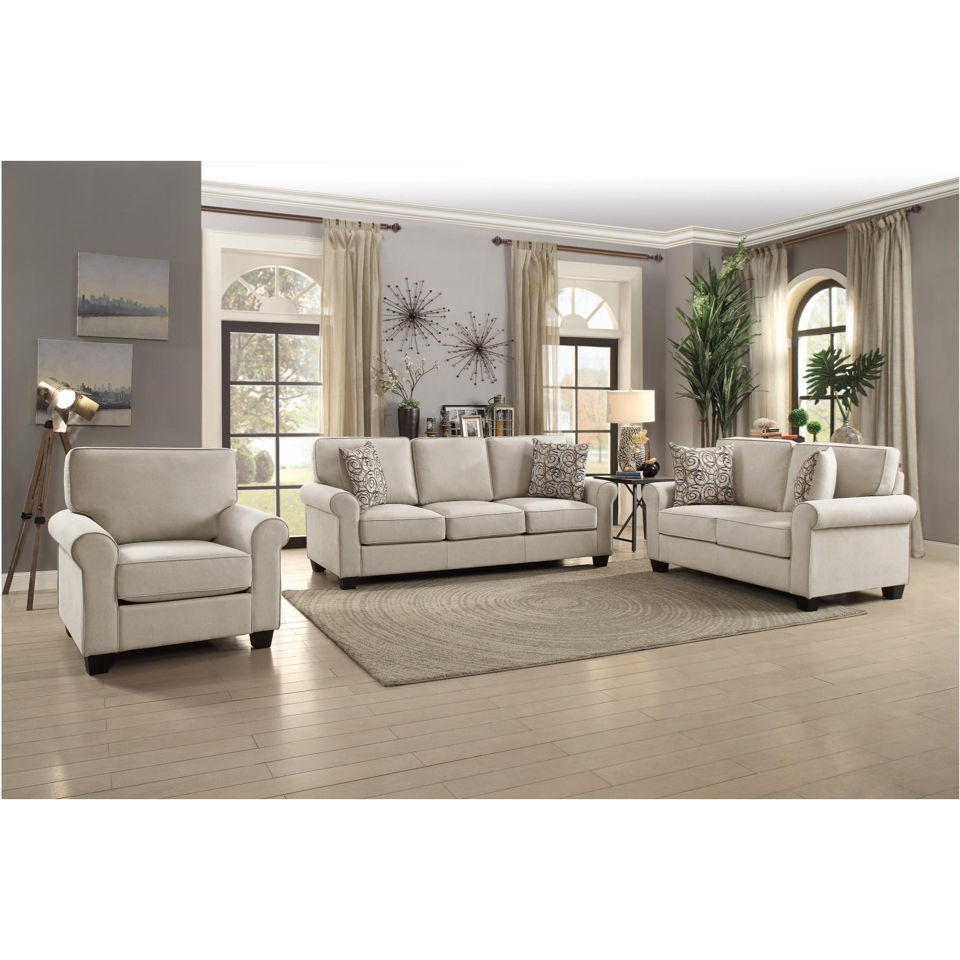 Selkirk Living Room Group by Homelegance at Simply Home by Lindy's